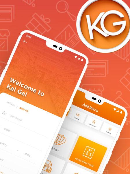 Kal Gal android app development