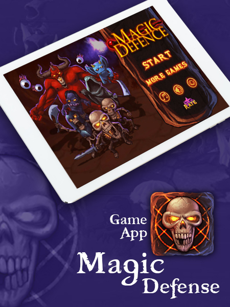 magic defense game app development